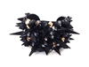 BLACK CAVIAR SPIKE CUFF