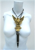 SCREAMIN EAGLE BULLET NECKLACE