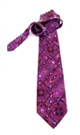 PURPLE PANTHER TIE