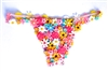 FLOWER POWER THONG
