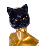 LEATHER PUSSY MASK