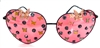FAIRY REBEL PAINTED LADY ROMANTICA BUTTERFLY JUMBO HEART GLASSSES