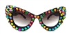 ROAD RUNNER DEVIL CATS MEOW SUNGLASSES