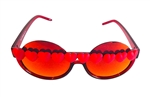 HEART OF GLASS RED HEART ACID PEEKABOO GLASSES