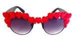 HEART OF GLASS RED HEART COCO GLASSES