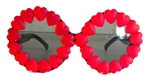 HEART OF GLASS RED HEART DONOVAN GLASSES