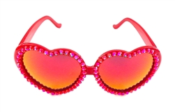 BABY'S ON FIRE RED LOLITA GLASSES