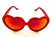 HOT BLOODED RED LOLITA GLASSES