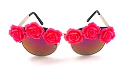 SCARLET BEGONIA ACID COCO GLASSES