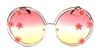 MORNING GLORY PINK JOPLIN GLASSES