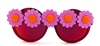 CHINA CAT SUNFLOWER ACID PEEKABOO GLASSES