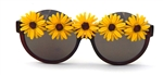 CANARY DAISY PEEKABOO GLASSES