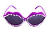 CUDA PURPLE HOT LIPS SUNGLASSES