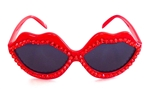 HOT BLOODED RED HOT LIPS SUNGLASSES
