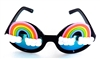 FANTASIA NEON RAINBOW WILDE CATERPILLAR GLASSES