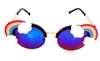 FANTASIA RAINBOW ACID COCO GLASSES