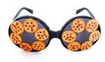 PIZZA PARTY PEPPERONI PIE RODEO QUEEN GLASSES