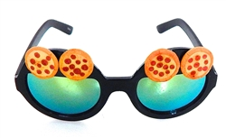 PIZZA PARTY PEPPERONI PIE WILDE CATERPILLAR GLASSES