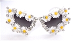 SWAN RIVER DAISY CATS MEOW SUNGLASSES