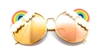 FANTASIA NEON RAINBOW VIXEN SUNGLASSES