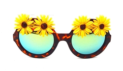 CANARY DAISY WILDE CATERPILLAR GLASSES