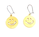 HEAVY METAL GOLD HAPPY EARRINGS