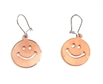 HEAVY METAL ROSE GOLD HAPPY EARRINGS
