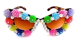 JELLYBEAN DISCO QUEEN CATS MEOW GLASSES