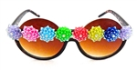JELLYBEAN DISCO QUEEN PEEKABOO GLASSES