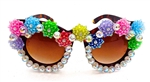 JELLYBEAN DISCO QUEEN SCOTTIE GLASSES