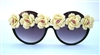 YELLOW ROSE OF TEXAS PEEKABOO GLASSES
