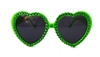 LUCKY LEPRECHAUN LOLITA HEART GLASSES