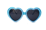 BLUE BIRD LOLITA HEART GLASSES