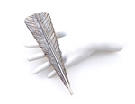 BIRDS OF PREY LARGE WILVER FEATHER RING