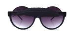 BIRDS OF PREY FLAT BLACK LITTLE FEATHER PEEKABOO GLASSES