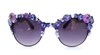 PURPLE PANTHER COCO GLASSES