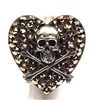 RANSOM SMALL HEART RING