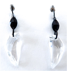 RARE FIND CRYSTAL PEGASUS EARRINGS