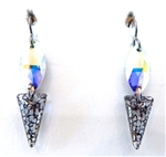 RARE FIND GERONIMO PYRAMID EARRINGS