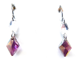 RARE FIND LILAC DIAMOND EARRINGS