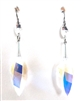 RARE FIND CRYSTAL OPAL SPEAR DROP EARRINGS