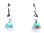 RARE FIND PARADISE TRAIANGLE EARRINGS