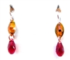 RARE FIND SCARLET DROP EARRINGS