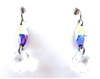 RARE FIND UNICORN CRYSTAL DIAMOND EARRINGS