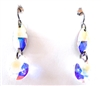 RARE FIND UNICORN CRYSTAL OPAL EARRINGS