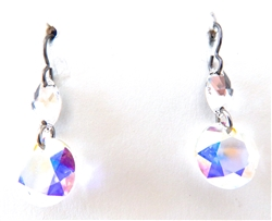 RARE FIND UNICORN DIAMOND�OPAL�EARRINGS