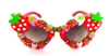 STRAWBERRY BLONDE CATS MEOW GLASSES