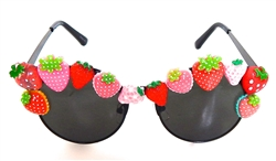 STRAWBERRY BLONDE COCO GLASSES