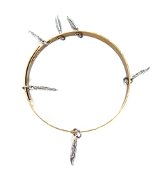 THUNDERBIRD PONY FEATHER BANGLE