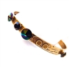 THUNDERBIRD BLACK RAINBOW BANGLE
